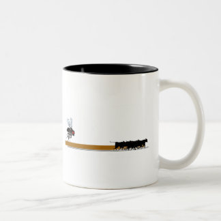 23rd Century Cattle Rustler Two-Tone Coffee Mug