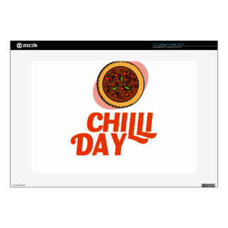23rd February - Chilli Day - Appreciation Day Decals For Laptops