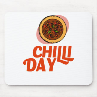 23rd February - Chilli Day - Appreciation Day Mouse Pad