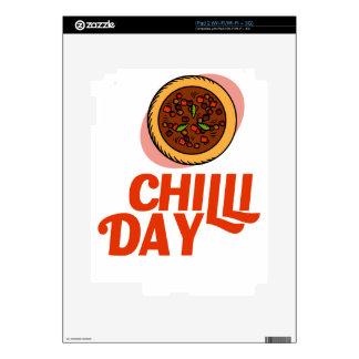 23rd February - Chilli Day - Appreciation Day Skin For iPad 2