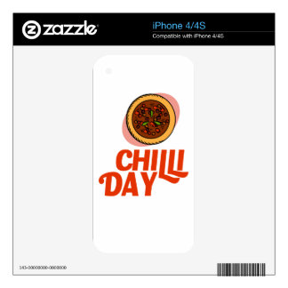 23rd February - Chilli Day - Appreciation Day Skin For iPhone 4S