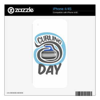 23rd February - Curling Is Cool Day iPhone 4S Skins