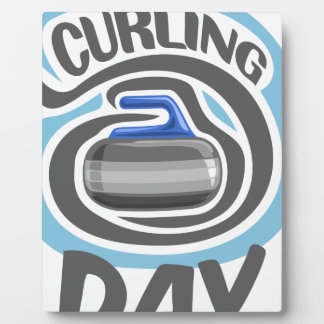 23rd February - Curling Is Cool Day Plaque