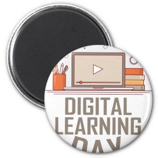 23rd February - Digital Learning Day Magnet