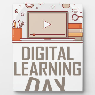 23rd February - Digital Learning Day Plaque