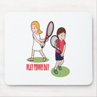 23rd February - Play Tennis Day - Appreciation Day Mouse Pad