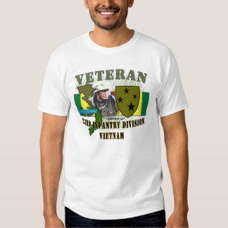 23rd Inf Div (Americal) - Vietnam (w/CIB) Tee Shirt