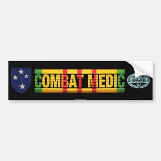23rd Inf. Div. Vietnam COMBAT MEDIC Sticker Car Bumper Sticker