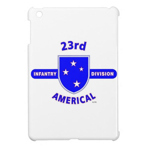 """23RD INFANTRY DIVISION """"AMERICAL"""" iPad MINI COVERS"""