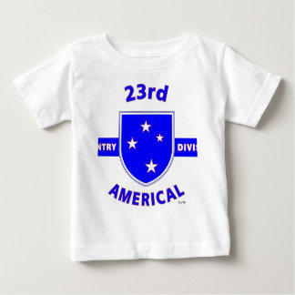 """23RD INFANTRY DIVISION """"AMERICAL"""" PRODUCTS BABY T-Shirt"""