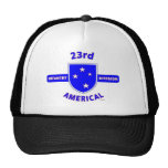 """23RD INFANTRY DIVISION """"AMERICAL"""" PRODUCTS HATS"""
