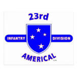 """23RD INFANTRY DIVISION """"AMERICAL"""" PRODUCTS POSTCARD"""