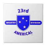 """23RD INFANTRY DIVISION """"AMERICAL"""" PRODUCTS TILE"""