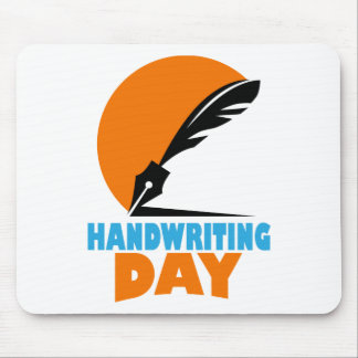 23rd January - Handwriting Day Mouse Pad