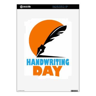 23rd January - Handwriting Day Skin For iPad 2