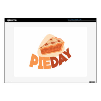 "23rd January - Pie Day - Appreciation Day Skin For 15"" Laptop"