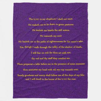 23rd PSALM Fleece Blanket