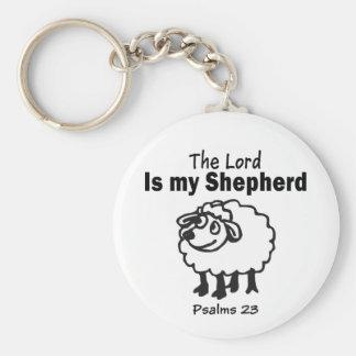23rd Psalm Keychain