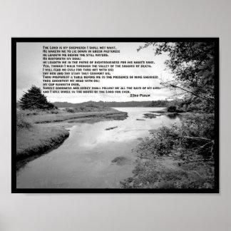 23rd Psalm Landscape Photo Poster