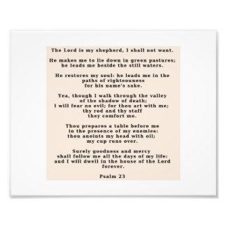 23rd Psalm Photo Print