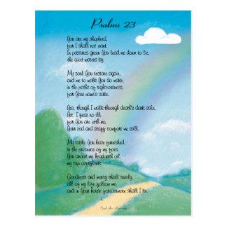 23rd Psalm Postcard