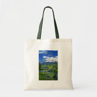 23rd Psalm Valley View Tote Bag