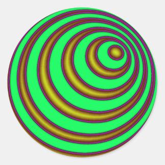 23rd Spiral Sticker