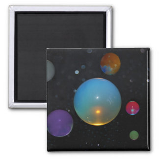 23rd Universe 2 Inch Square Magnet