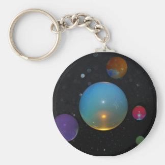 23rd Universe Basic Round Button Keychain