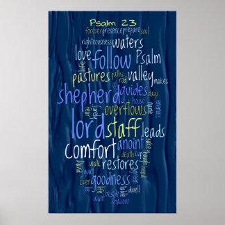 23ro Agua corriente del salmo Posters