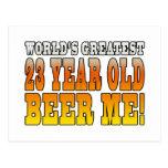23ro cumpleaños divertidos: Años más grandes de lo Postales