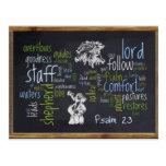 23ro Pizarra 1 del salmo Postales