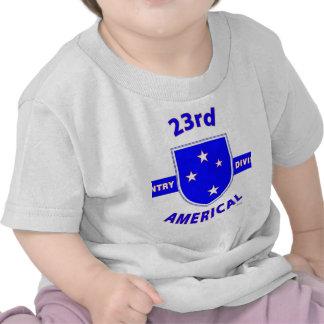 """23ro PRODUCTOS de la DIVISIÓN de INFANTERÍA """"AMERI Camiseta"""