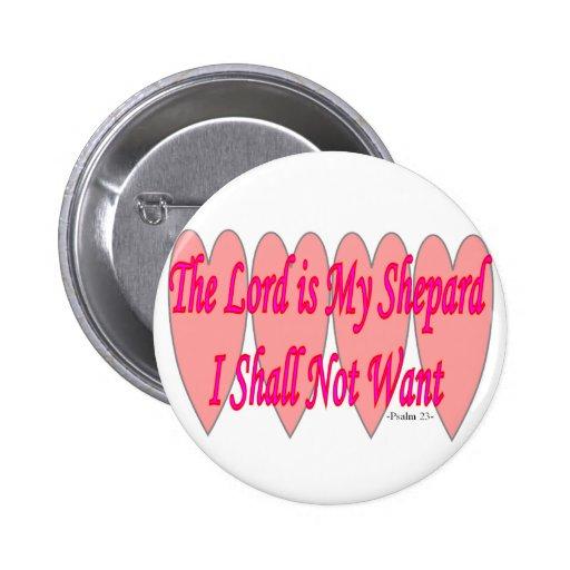 23ro Salmo--Corazones rosados--Regalos Pins