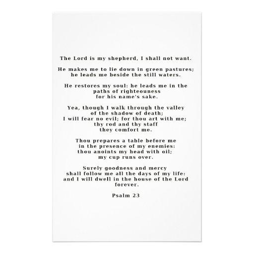 23ro Salmo Papelería