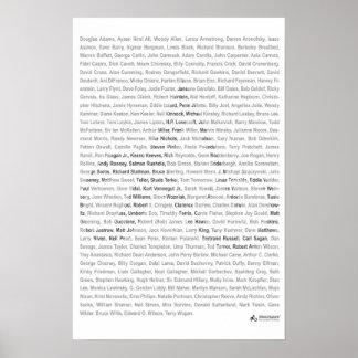 23x35 impresión - lista atea de la ropa - blanco poster