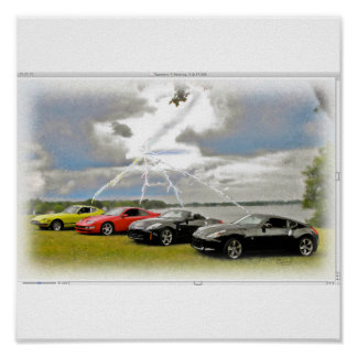 240 a 370 coches de Z Poster
