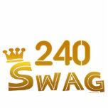 240 Area Code Swag Photo Cutouts
