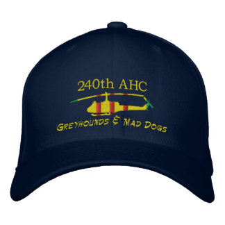 240th AHC Vietnam UH1 Embroidered Hat
