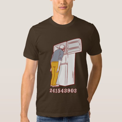 241543903 head freezer humorous tshirt