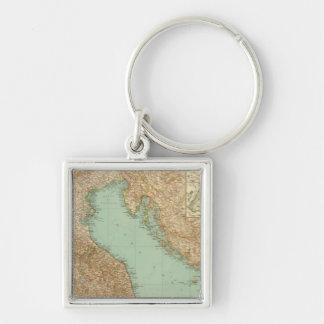 2426 Italia del norte Llaveros Personalizados