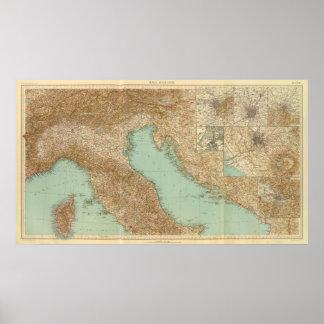 2426 Italia del norte Posters