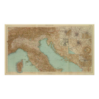 2426 North Italy Poster