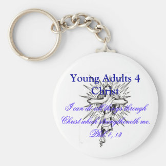 2429504379_378fdcb353, Young Adults 4 Christ, I... Keychain