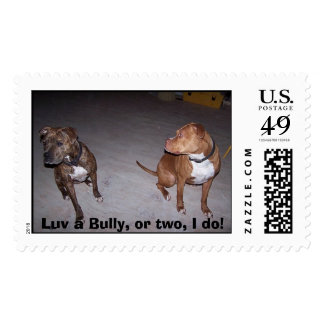 243358966403_0_BG, Luv a Bully, or two, I do! Postage
