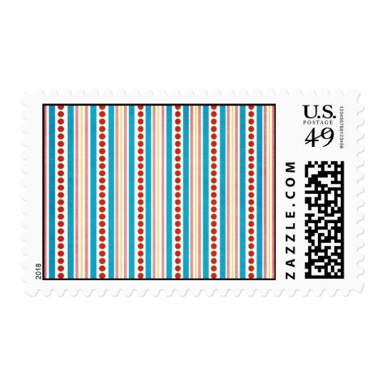 245_shellfish-paper-stripes STRIPES RED BLUE PINK Postage