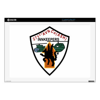 "245th Aviation Company Skin For 17"" Laptop"
