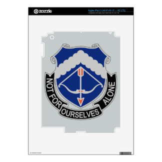 245th Aviation Regiment - Not For Ourselves Alone Decals For iPad 3