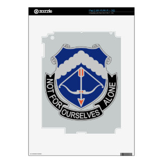 245th Aviation Regiment - Not For Ourselves Alone iPad 2 Decal
