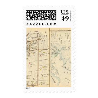 246247 Rye Postage Stamp